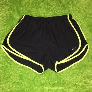 Size Large NIKE dri-fit running shorts
